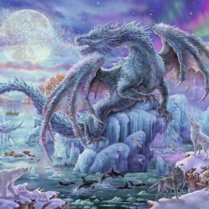 Mystical Dragons 500 Piece Jigsaw Puzzle - Ravensburger