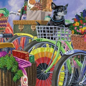 Bicycle Group 300 Large Piece Format Jigsaw Puzzle - Ravensburger