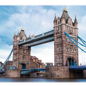 Tower Bridge over Thames River 1500 Piece Puzzle - Trefl