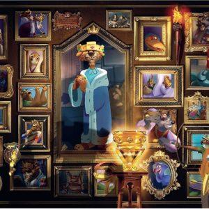 illainous Prince John 1000 Piece Puzzle - Ravensburger
