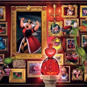 Villainous - Queen of Hearts 1000 Piece Puzzle - Ravensburger