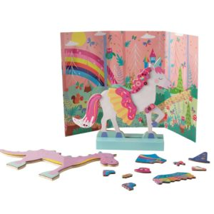 Wooden Magnetic Dress Up- Fantasy Pets - Floss & Rock
