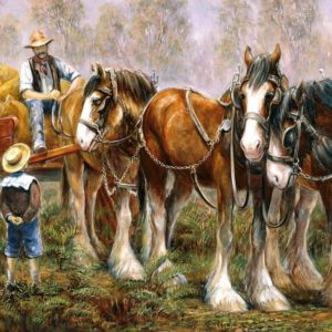 Working legends - Can I come Too 500 XL Piece Puzzle - Holdson