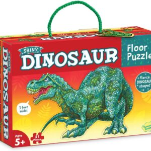 Floor Puzzle - Shiny Dinosaur - Peaceable Kingdom