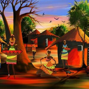 African Delight 1000 Piece Jigsaw Puzzle - Funbox