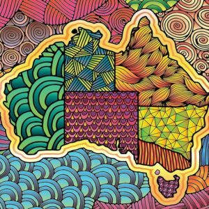 Australia Flair 1000 Piece Puzzle - Funbox
