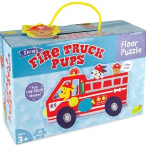 Floor Puzzle - Fire Truck Pups - Peaceable Kingdom