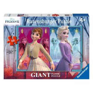 Frozen 2 Disney Devoted Sisters 60 Piece Giant Floor Puzzle - Ravensburger