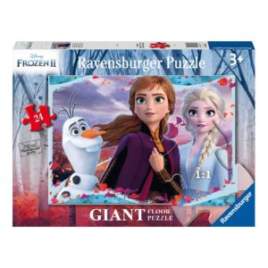Frozen 2 Disney Enchanting New World 24 Piece Giant Floor Puzzle - Ravensburger