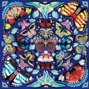 Kaleido-Butterflies 500 Piece Puzzle - Mudpuppy