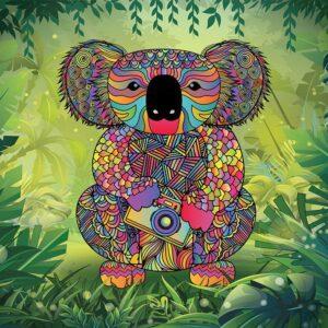 Kalm Koala 1000 Piece Jigsaw Puzzle - Funbox