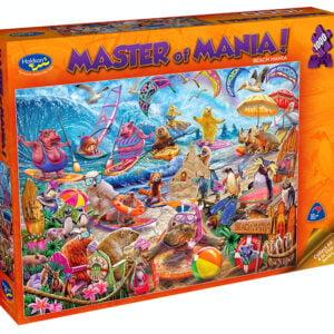 Master of Mania - Beach Mania 1000 Piece Puzzle - Holdson