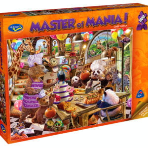 Master of Mania - Chef Mania 1000 Piece Puzzle - Holdson