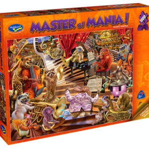 Master of Mania - Music Mania 1000 Piece Puzzle - Holson