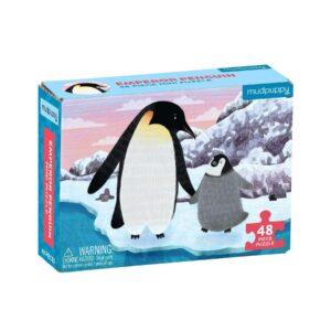 Mini Puzzle - Emperor Penguin 48 Piece Puzzle - Mudpuppy