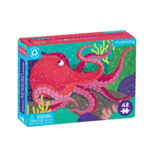 Mini Puzzle - Giant Pacific Octopus 48 Piece - Mudpuppy