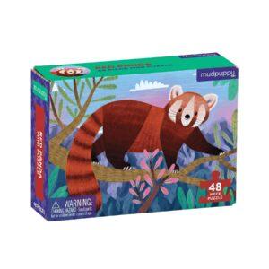 Mini Puzzle - Red Panda 48 Piece - Mudpuppy
