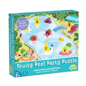 Scratch and Sniff Fruity Pool Party Puzzle - Peaceable Kingdom