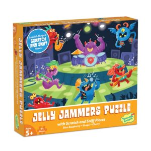 Scratch and Sniff Puzzle - Jelly Jammers - Peaceable Kingdom