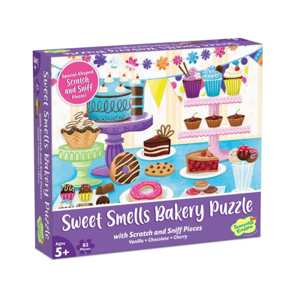 Scratch and Sniff Puzzle - Sweet Smells Bakery - Peaceable Kingdom