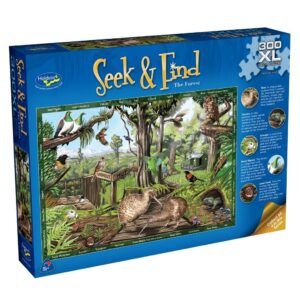 Seek & Find - The Forest 300 Extra Large Piece Puzzle - Holdson