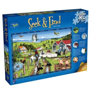 Seek and Find The Farm 300 Extra Large Piece Puzzle - Holdson