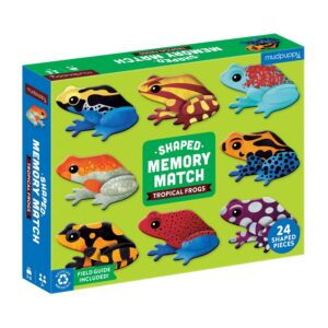 Shaped Memory Match Tropical Frogs - Mudpuppy
