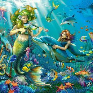 Underwater Beauties Glitter 100 Piece Puzzle - Ravensburger