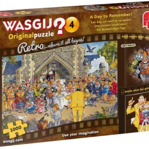 Wasgij Original Retro 4 - A Day to Remember 1000 Piece Puzzle - Jumbo