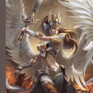 Angel Warrior 1000 Piece Jigsaw Puzzle - Jumbo