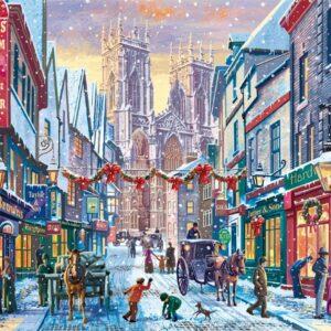 Christmas in York 1000 Piece Puzzle - Falcon de luxe