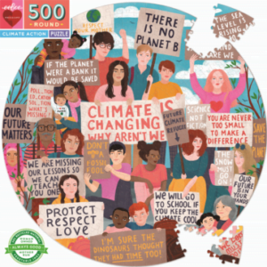 Climate Action 500 Piece Jigsaw Puzzle - eeBoo