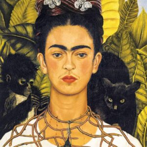 Frida Kahlo - Self Portrait with Thorn Necklace & Hummingbird 1000 Piece Jigsaw Puzzle - Eurographics