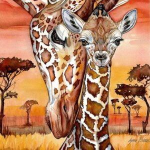 Giraffe 500 Piece Jigsaw Puzzle - Anato