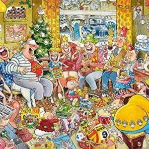 Graham Thompson - The Twelve Days of Christmas 1000 piece Puzzle - Falcon de luxe