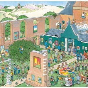 Jan Van Haasteren - The Art Market 2000 Piece Jigsaw Puzzle - Jumbo
