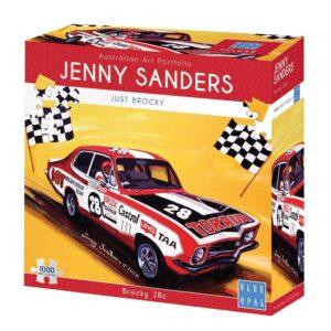 Jenny Sanders - Brocky 28C 1000 Piece Jigsaw Puzzle - Blue Opal