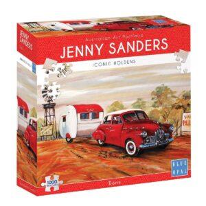 Jenny Sanders - Doris 1000 Piece Jigsaw Puzzle - Blue Opal