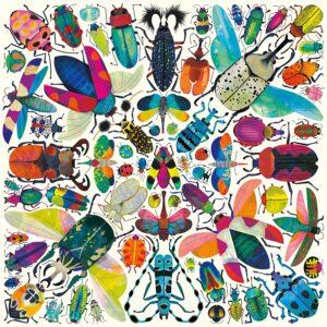 Kaleido Beetles 500 Piece Jigsaw Puzzle - Mudpuppy