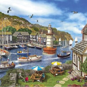 Lighthouse Bay 1000 Piece Jigsaw Puzzle - Gibsons