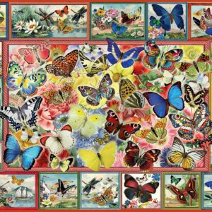 Lots of Butterflies 1000 Piece Jigsaw Puzzle - Anatolian