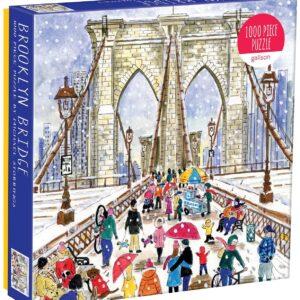 Michael Storrings - Brooklyn Bridge 1000 Piece Jigsaw Puzzle - Galison