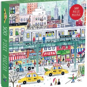 Michael Storrings - New York City Subway 500 Piece Jigsaw Puzzle - Galison