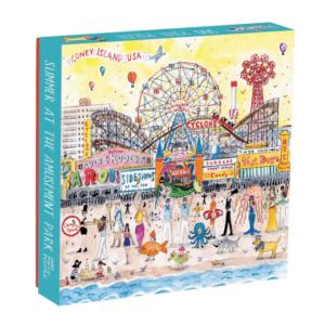 Michael Storrings - Summer At the Amusement Park 500 Piece Puzzle - Galison