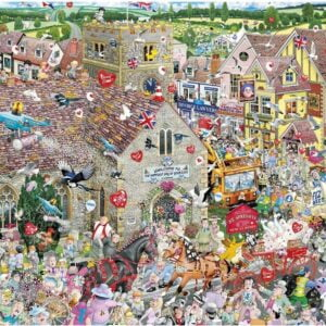 Mike Jupp - I Love Weddings 1000 Piece Jigsaw Puzzle - Gibsons