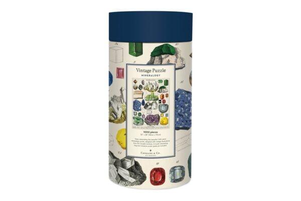 Mineralogy Vintage Puzzle 1000 Piece - Cavalinni & Co