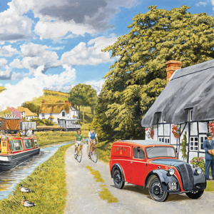 Parcel for the Canal Cottage 1000 Piece Jigsaw Puzzle - Falcon de luxe