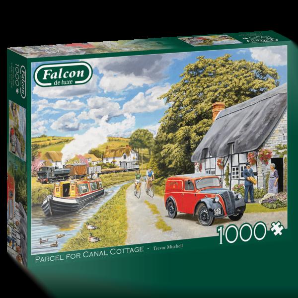 Parcel for the Canal Cottage 1000 Piece Jigsaw Puzzle - Falcon de luxe