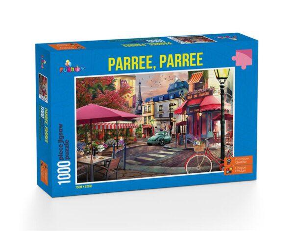 Parree, Parree Part 1 - 1000 Piece Jigsaw Puzzle - Funbox