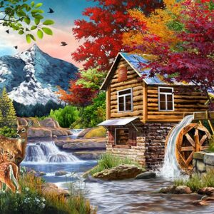 Perfect Places - The Cabin 1000 Piece Jigsaw Puzzle - Fun Box